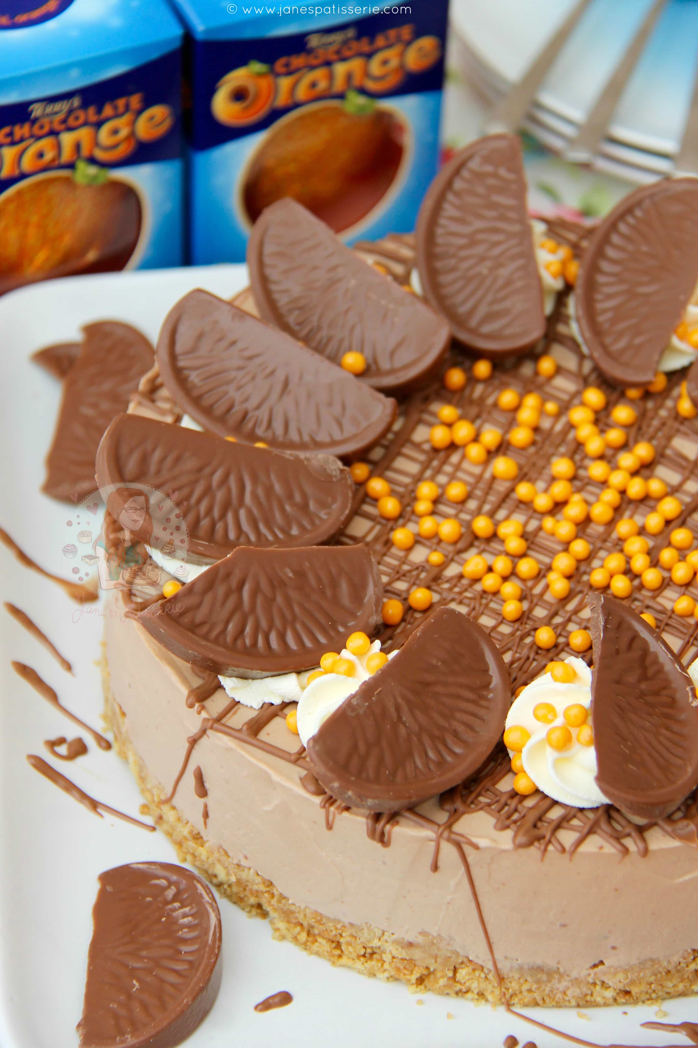 James Martin Chocolate And Orange Cheesecake
