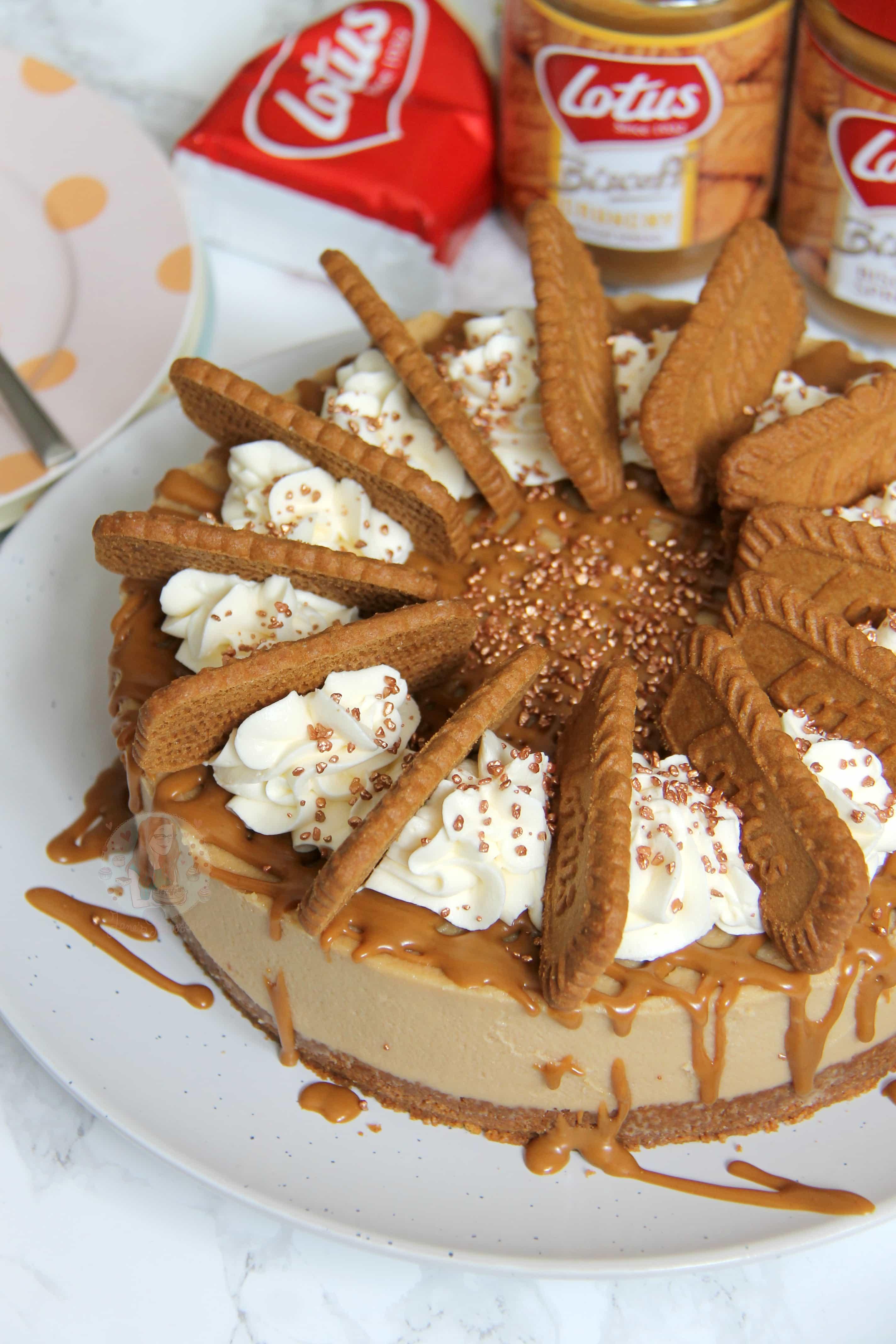 No Bake Biscoff Cheesecake Jane S Patisserie
