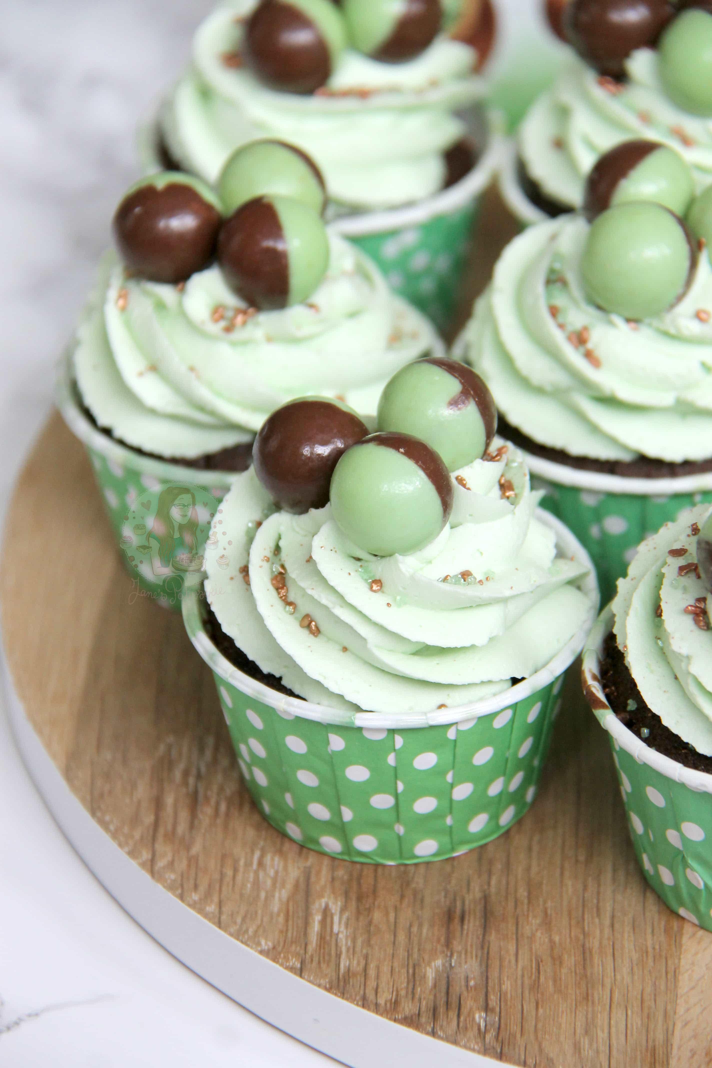 Mint Chocolate Cupcakes Jane S Patisserie