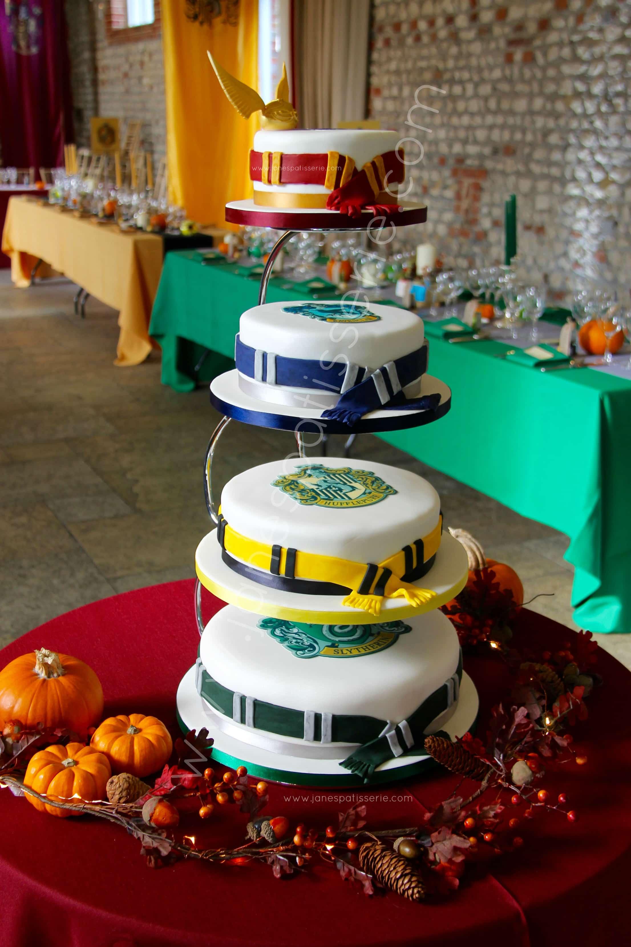 My Harry Potter Wedding Cake! - Jane\'s Patisserie