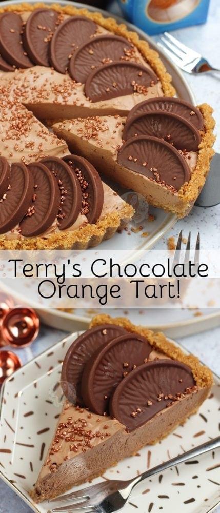 No Bake Terrys Chocolate Orange Tart Janes Patisserie