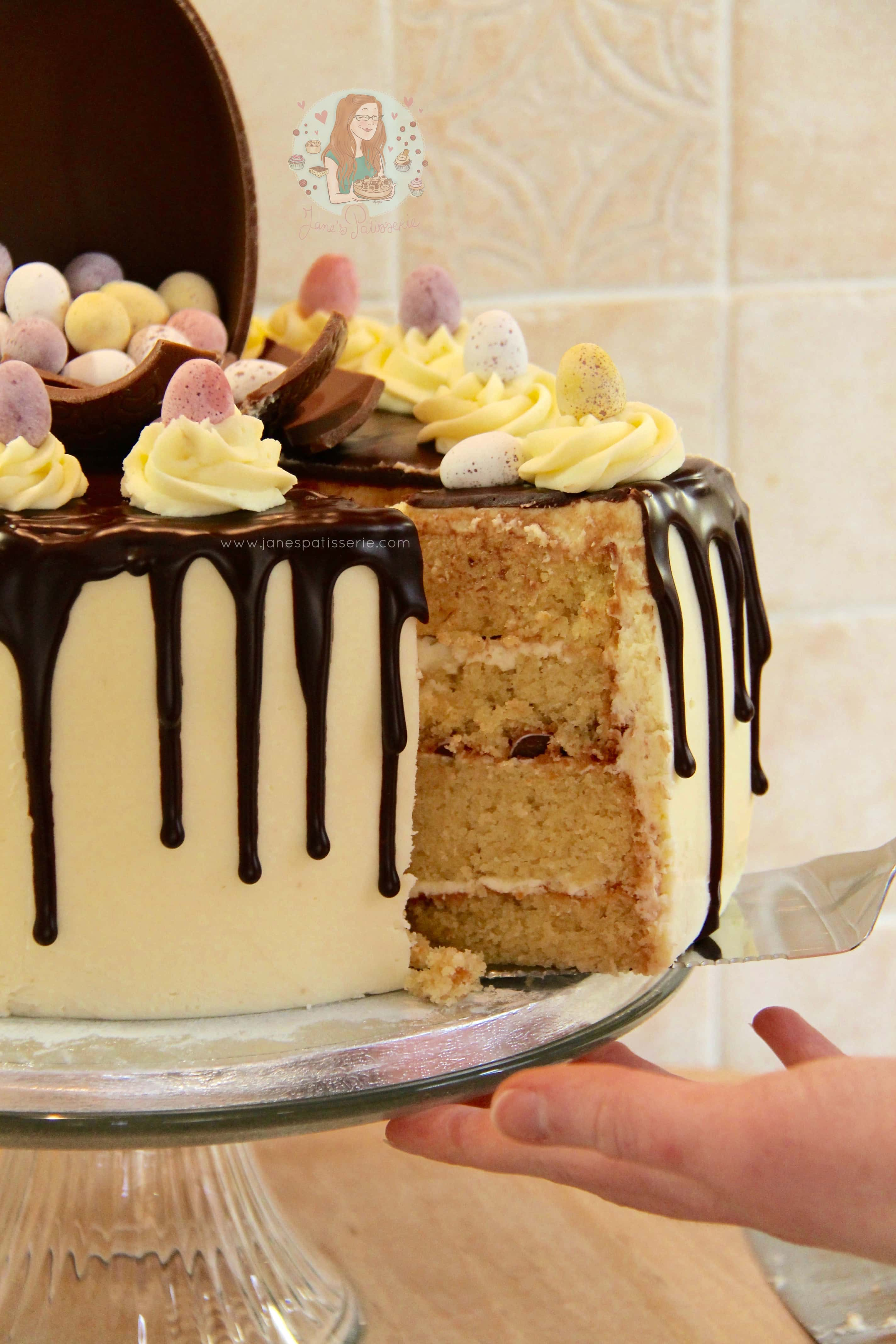 Mini Egg Cake! - Jane's Patisserie