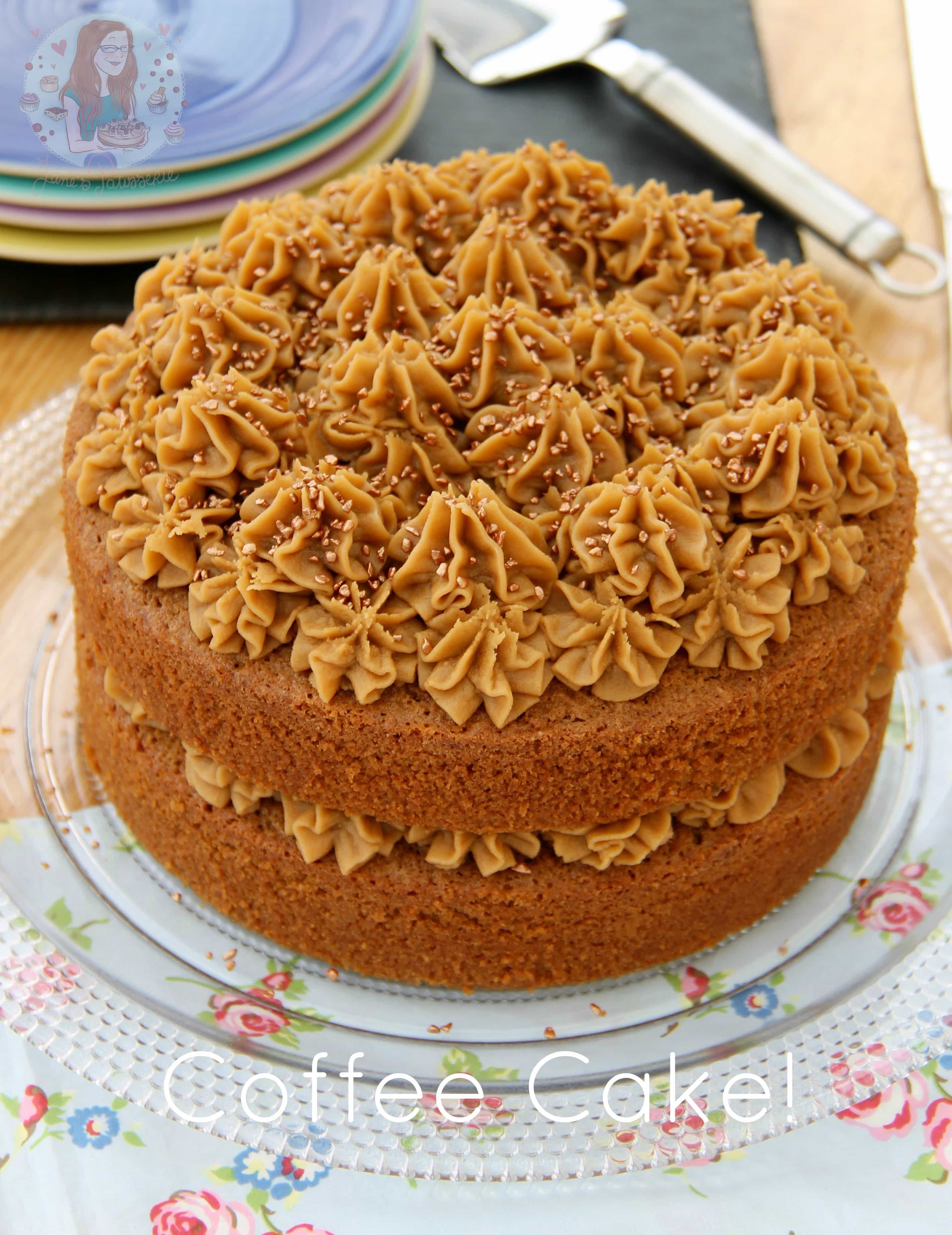 Coffee Cake! - Jane's Patisserie