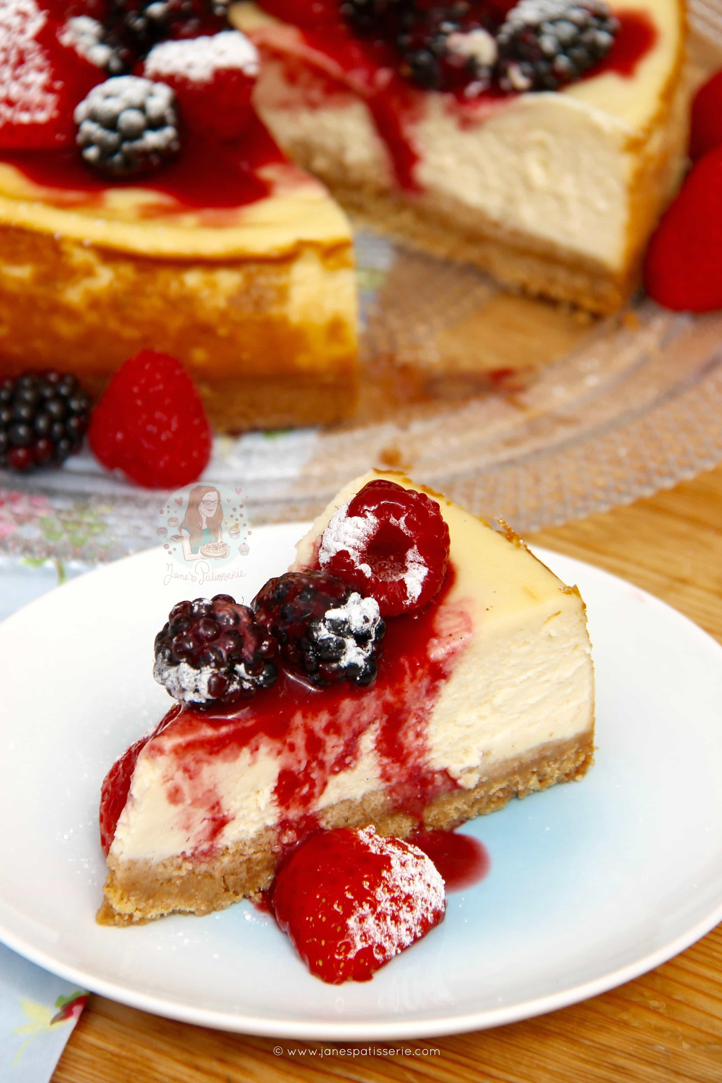 New York Cheesecake! - Jane's Patisserie