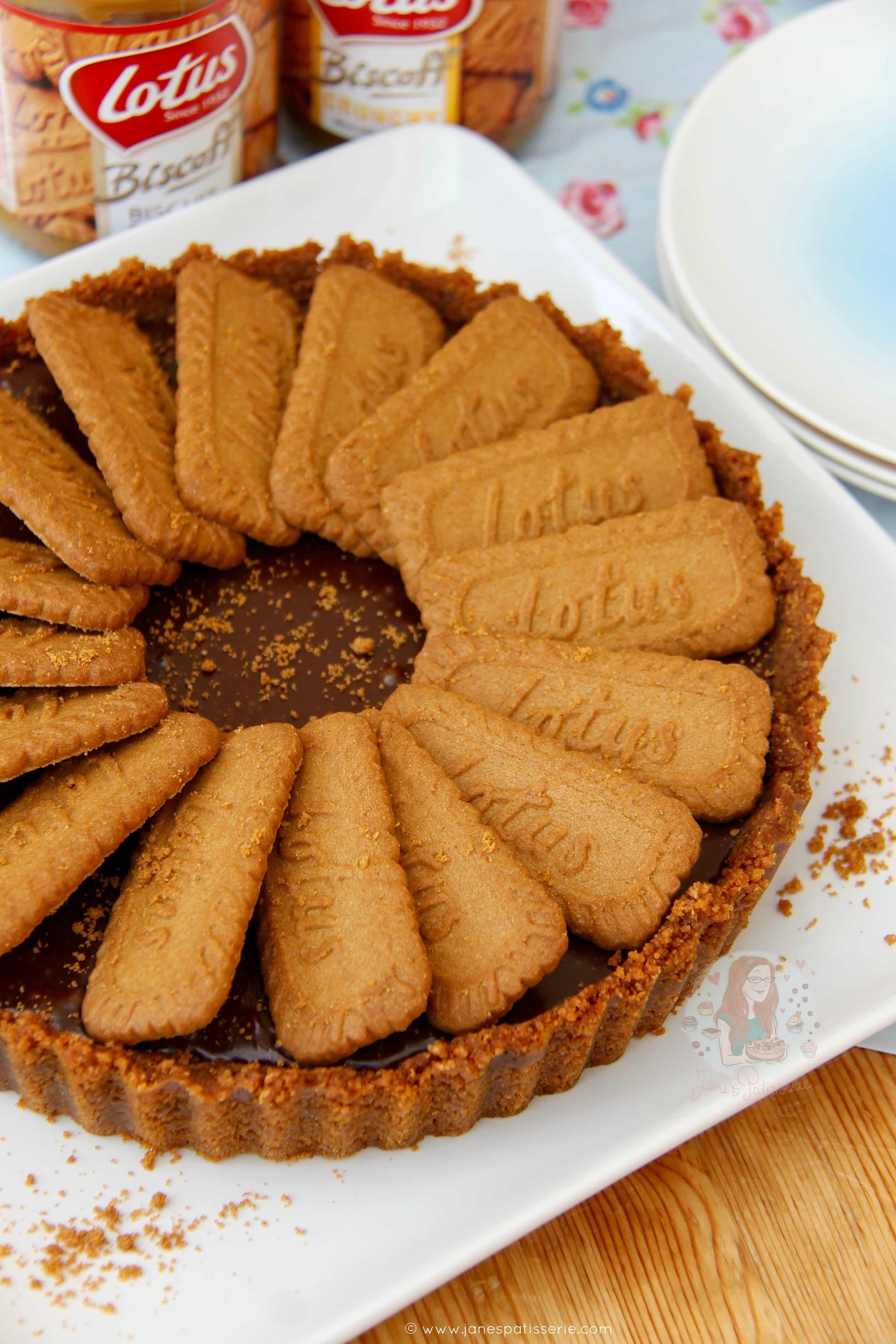 No-Bake Biscoff Tart! - Jane's Patisserie