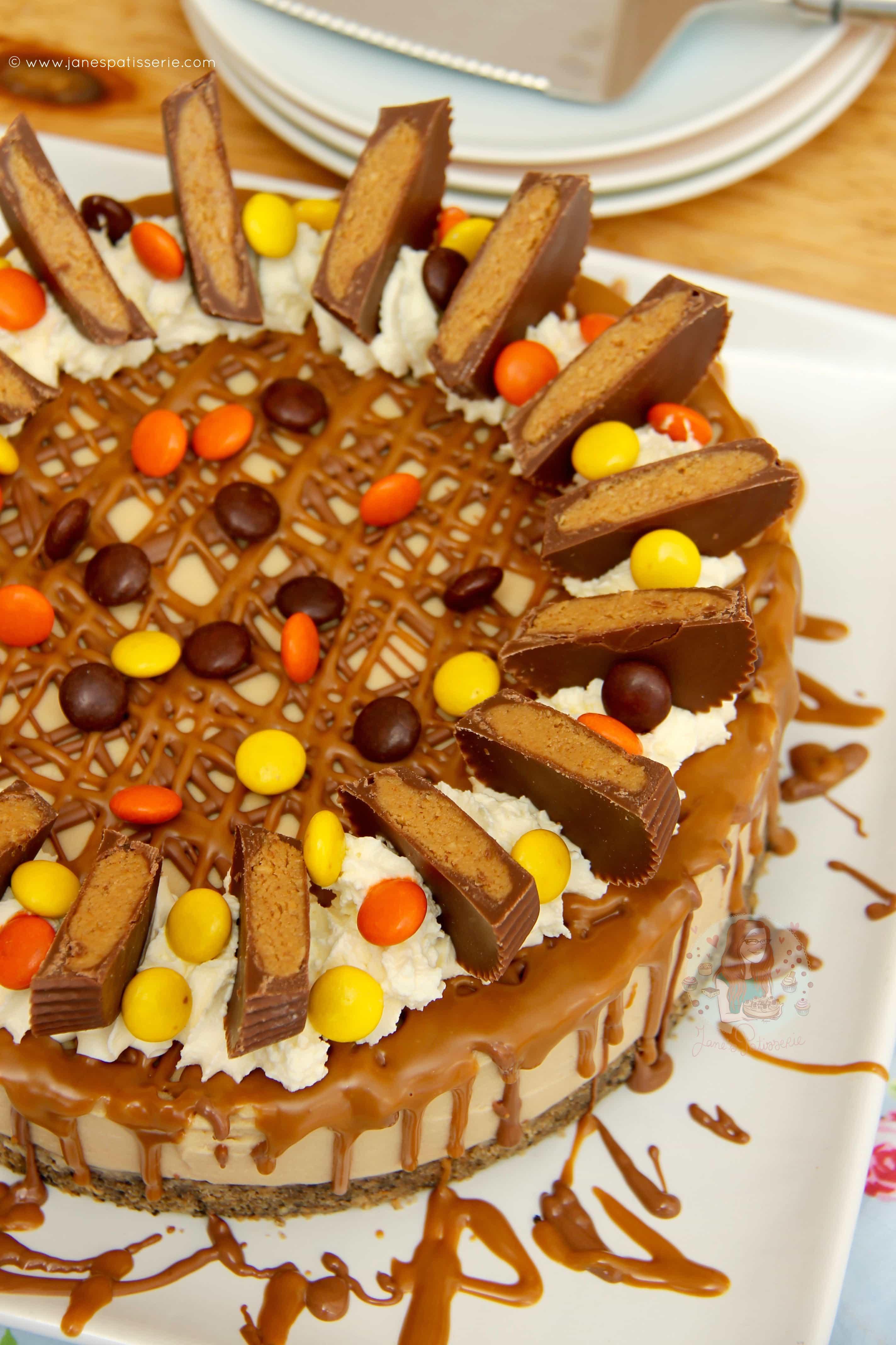 Eccezionale No-Bake Peanut Butter Cheesecake! - Jane's Patisserie TM83
