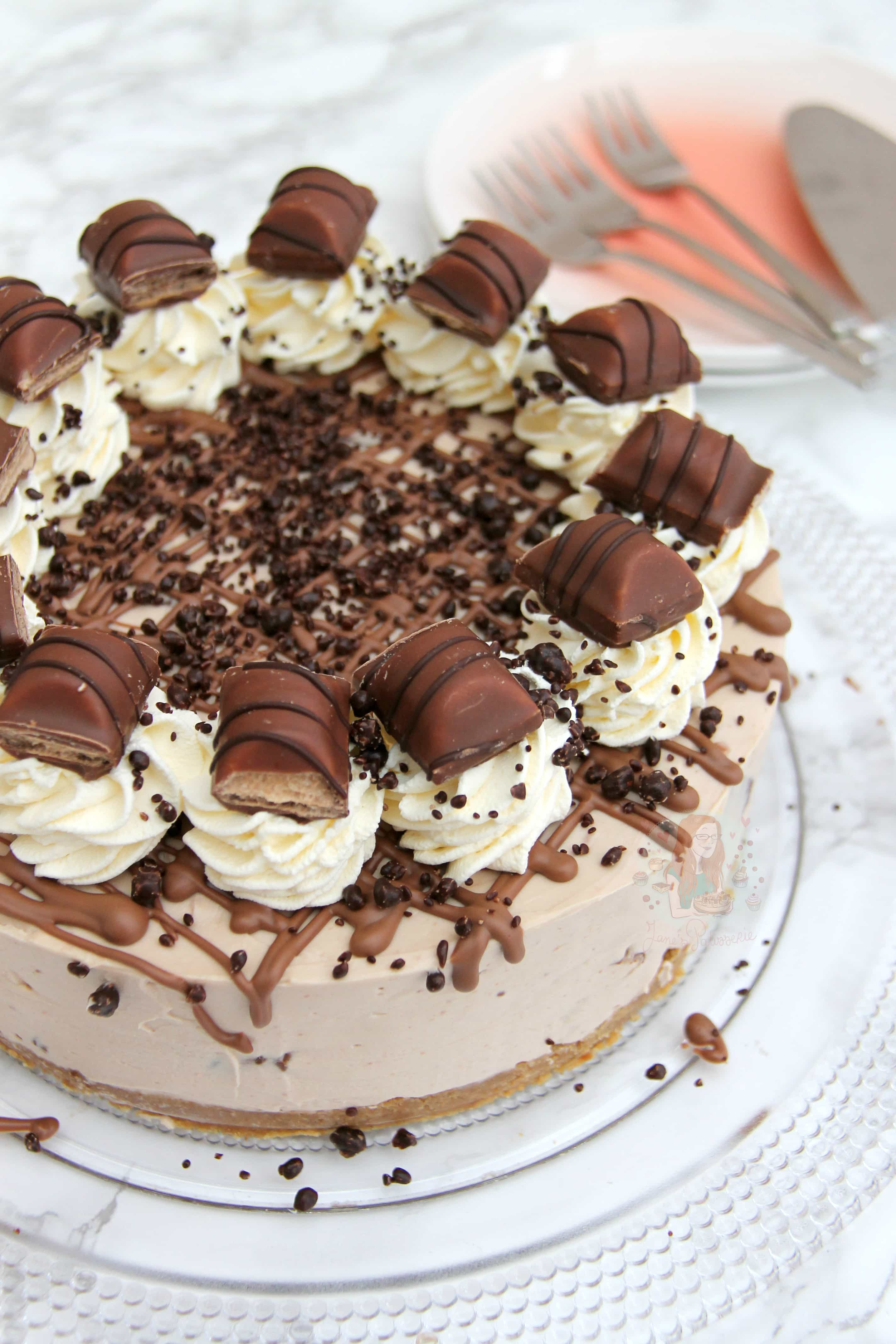 Populaire No-Bake Kinder Bueno Cheesecake! - Jane's Patisserie QZ44