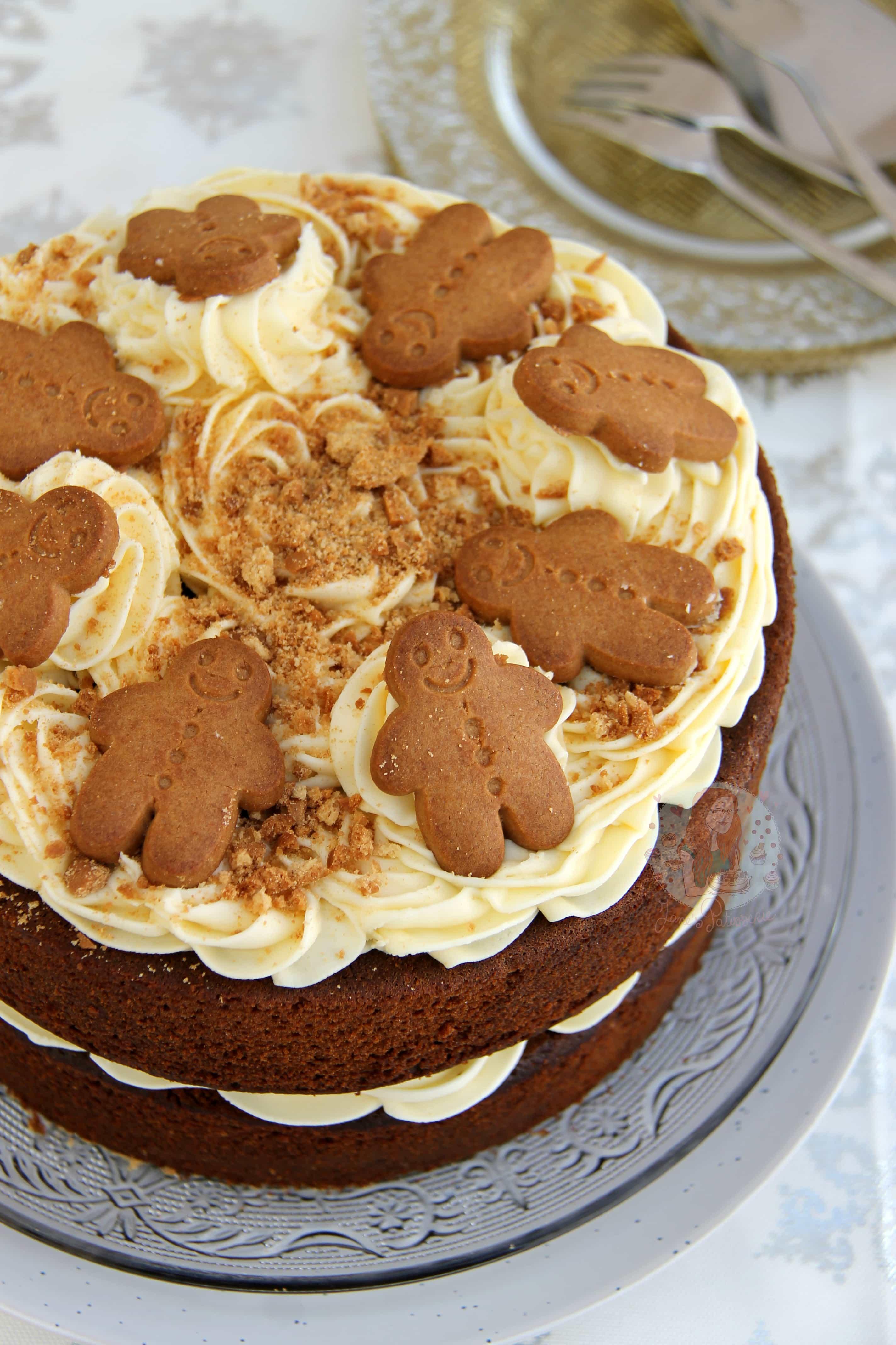 Christmas Gingerbread Cake Jane S Patisserie
