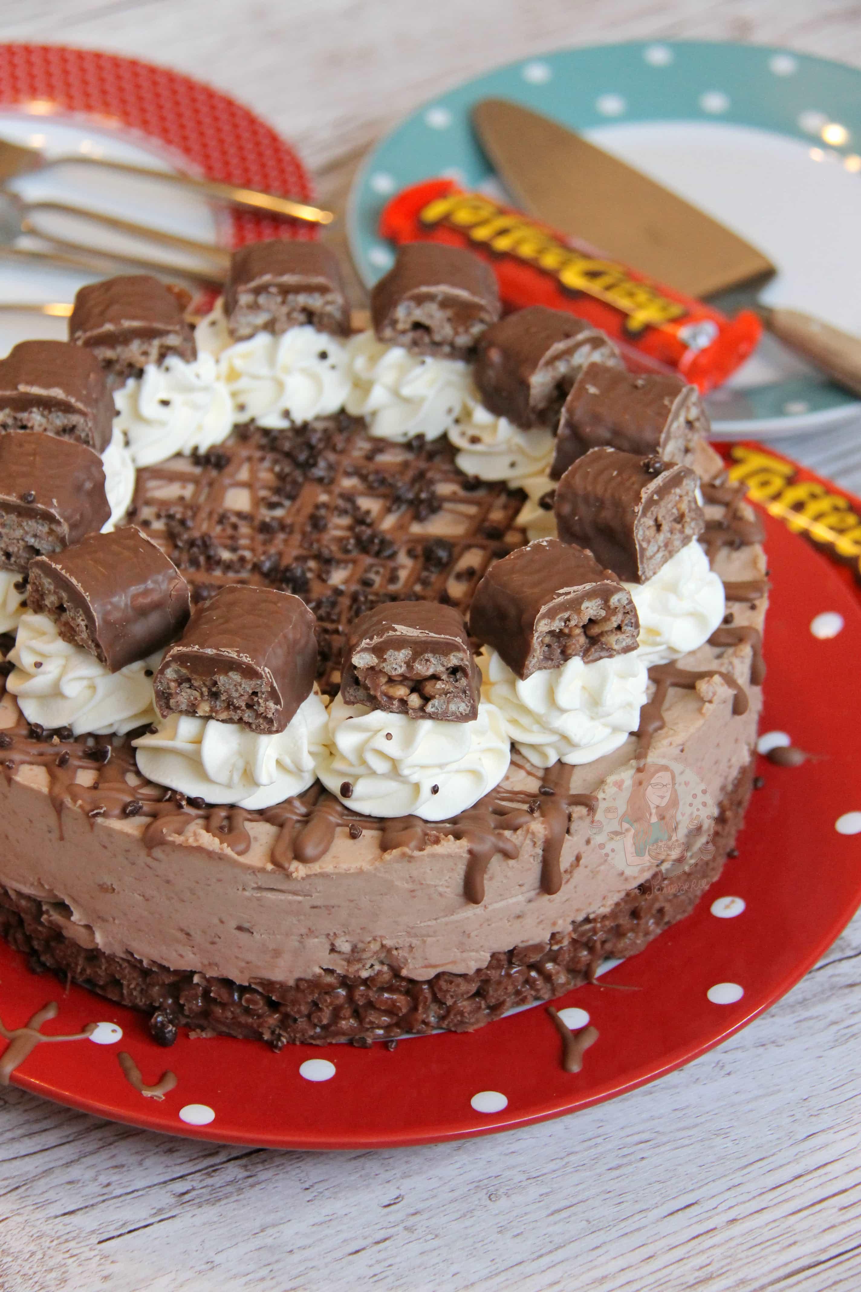 No Bake Toffee Crisp Cheesecake Jane S Patisserie