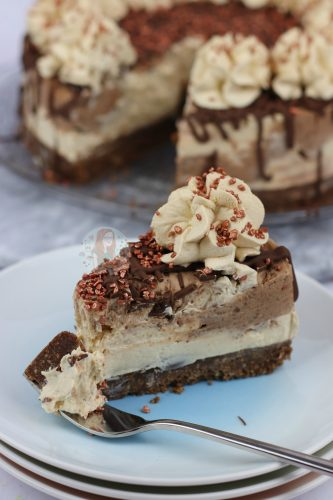 No-Bake Mocha Cheesecake! - Jane's Patisserie