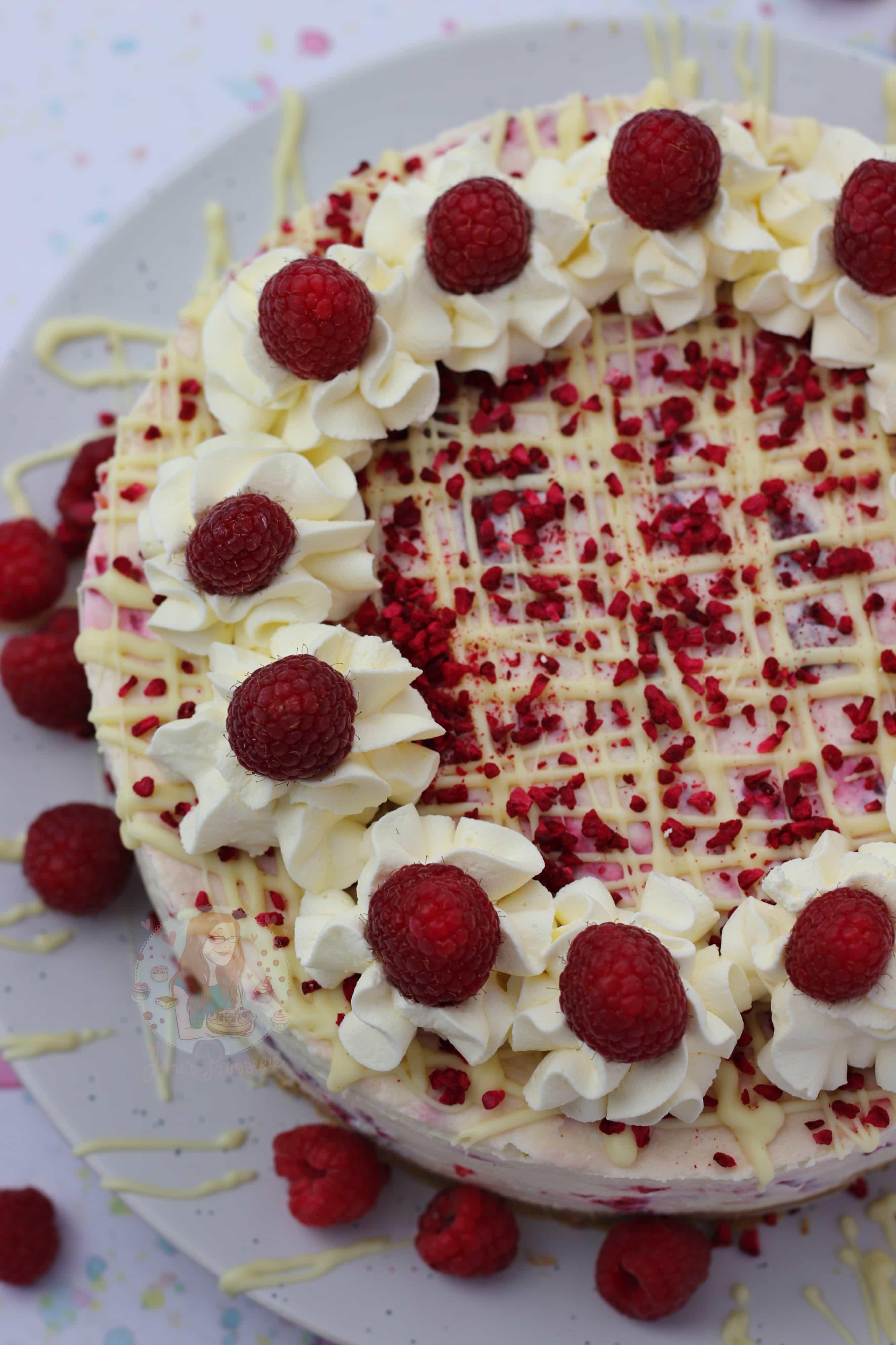 White Chocolate Raspberry Cheesecake Janes Patisserie