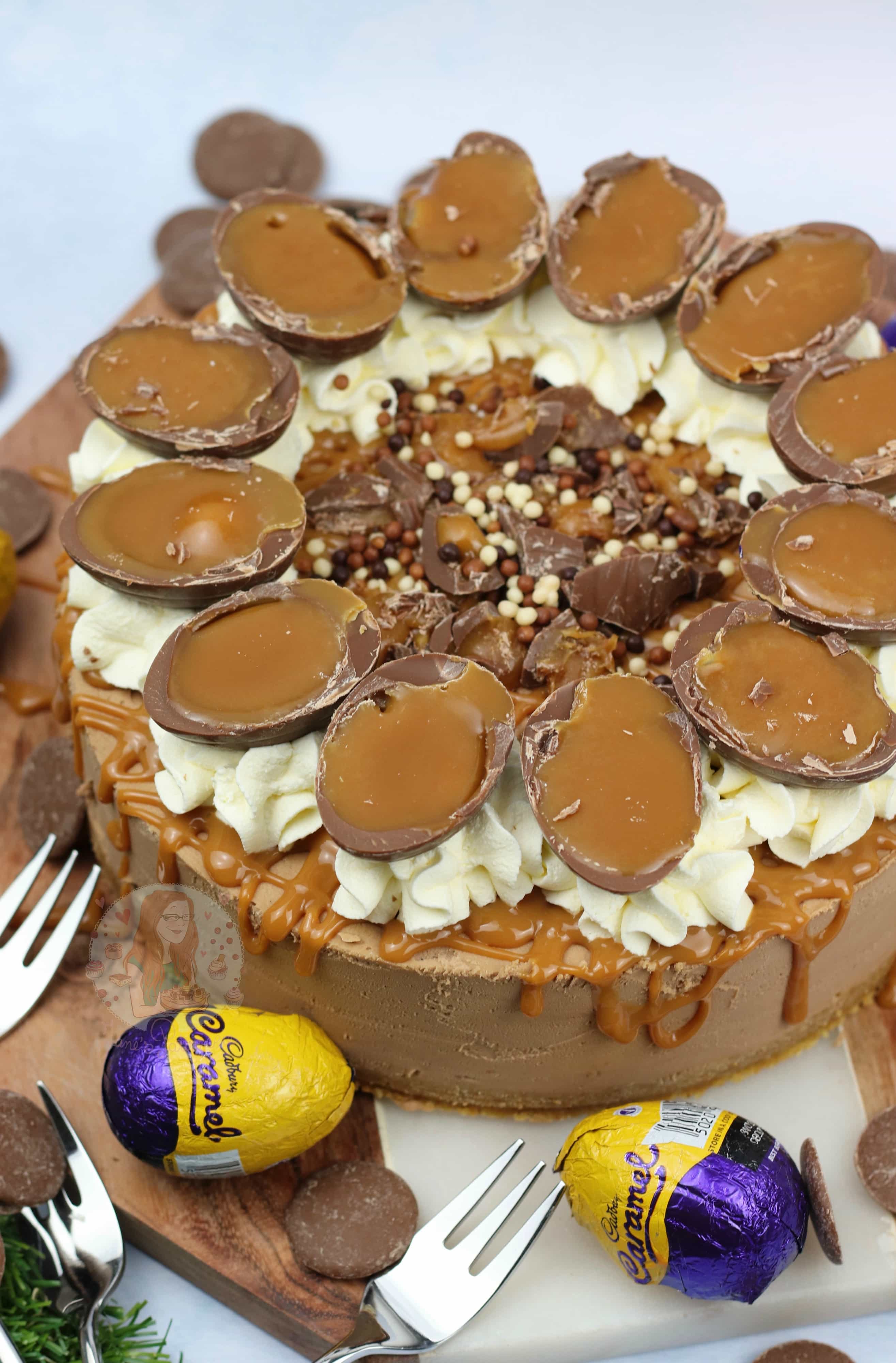 Cadburys Caramel Cheesecake
