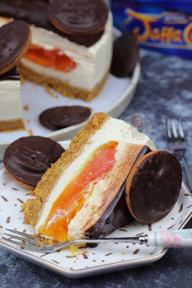 Jaffa Cake Cheesecake Janes Patisserie