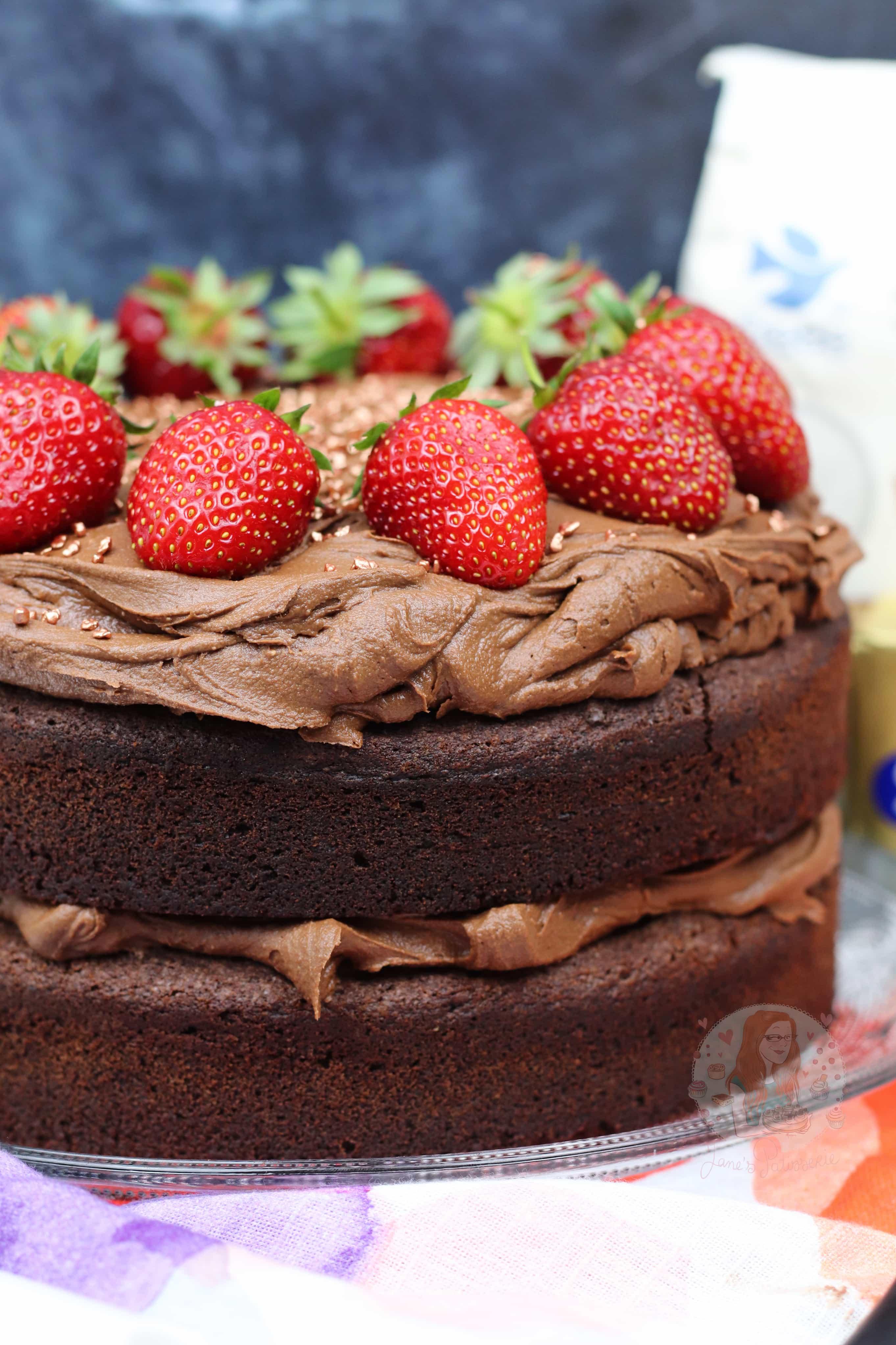 Gluten Dairy Free Chocolate Cake Janes Patisserie