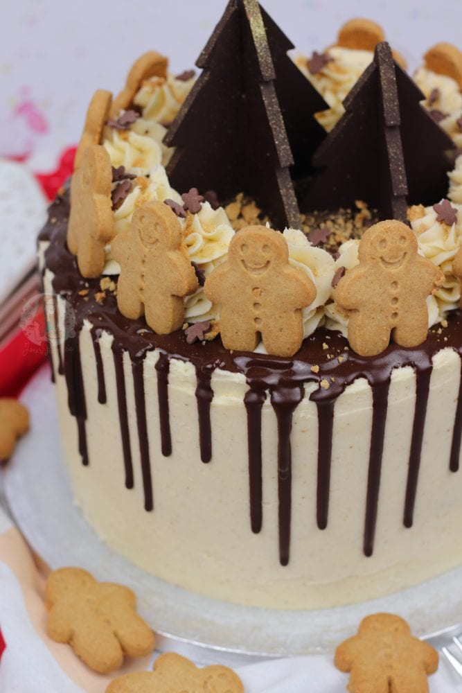 Gingerbread Drip Cake Jane S Patisserie
