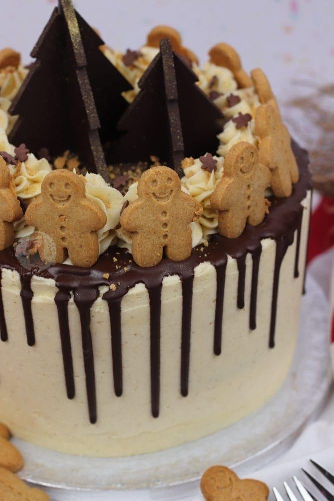 Gingerbread Drip Cake Jane S Patisserie
