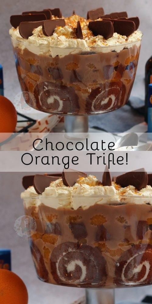 Terrys Chocolate Orange Trifle Janes Patisserie