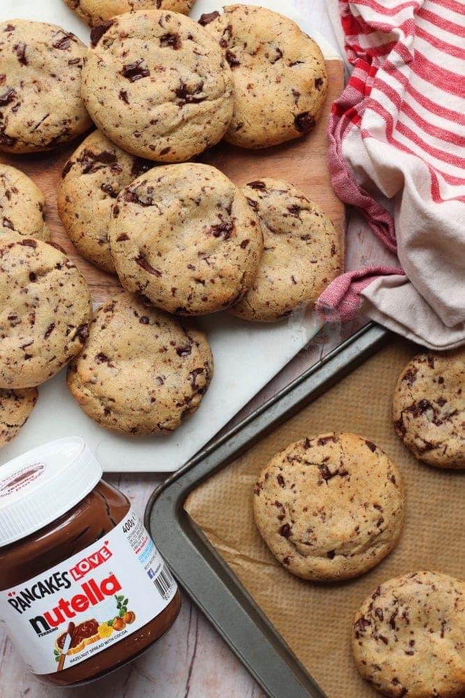Nutella Stuffed Cookies! - Jane's Patisserie