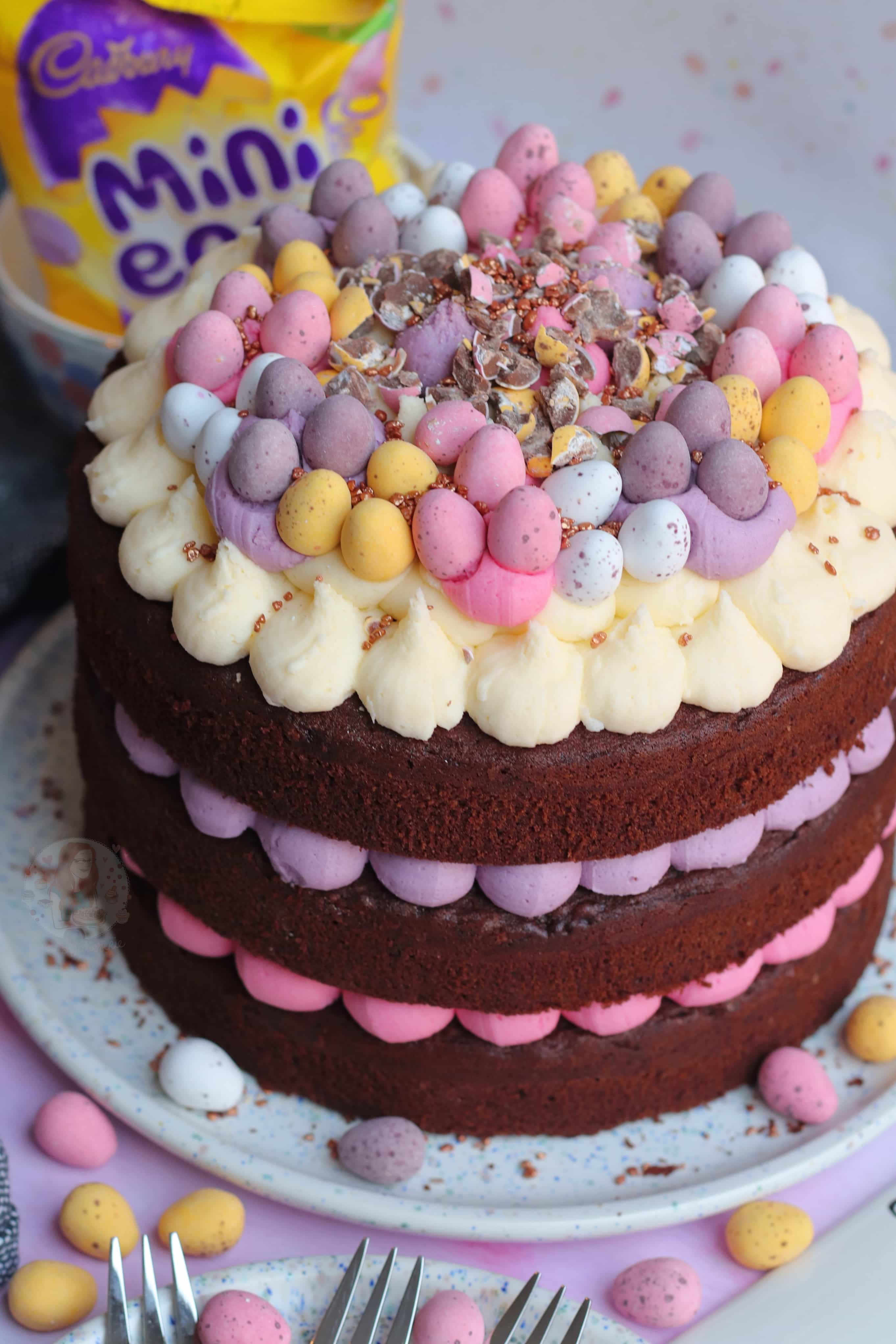 Mini Egg Chocolate Cake! - Jane's Patisserie