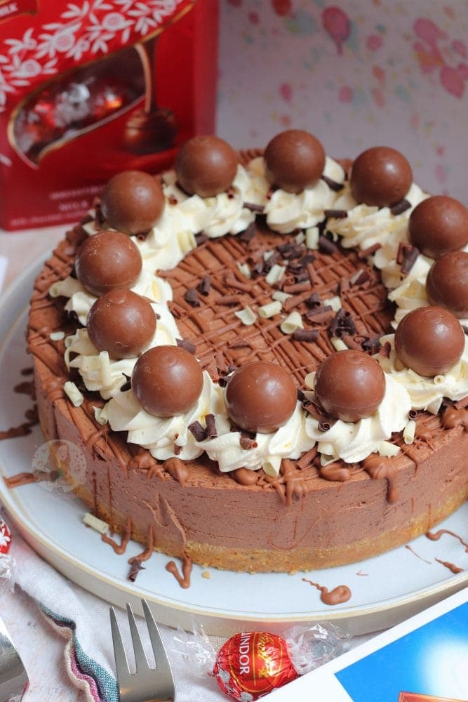 Lindt Chocolate Cheesecake Janes Patisserie